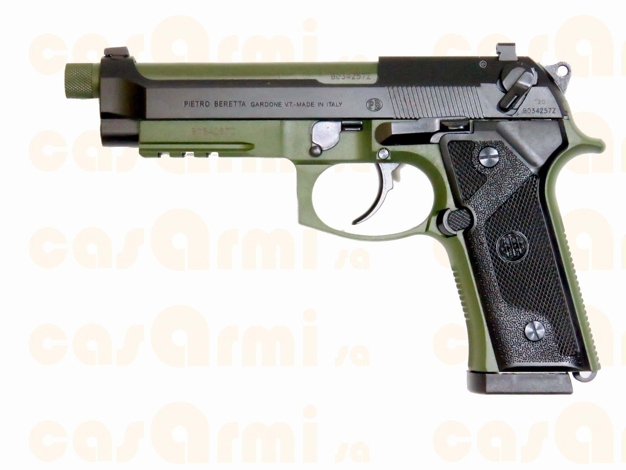 M9 A3 Black/Green  17 colpi